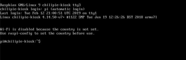 linux console 1